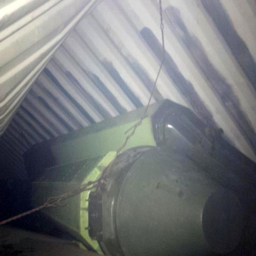Alleged weapons on North Korean ship