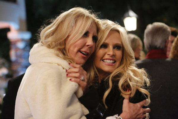 Vicki Gunvalson (left) and Tamra Barney.