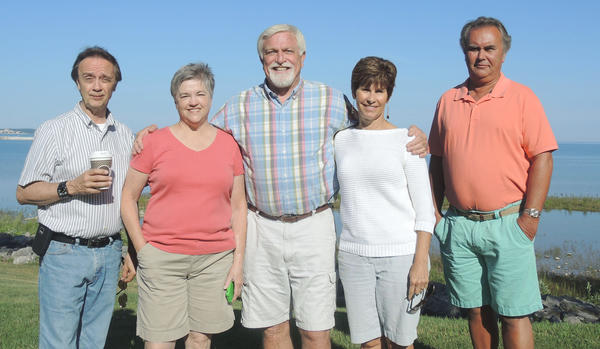 Retirees from petoskey Middle School are (from left to right) Jerry Westerman, Susan VanDeventer, Roy Harvey, Terry Wright and Randal Leestma. Not pictured is Diane Cocoran is not shown.