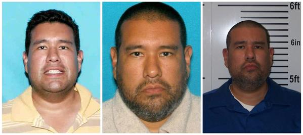 Suspect Anthony Joseph Garcia taken in 2006, 2012 and after his arrest in Illinois on July 15, 2013, as released by the Omaha Police Department and the Union County Sheriff's Department on July 15, 2013.
