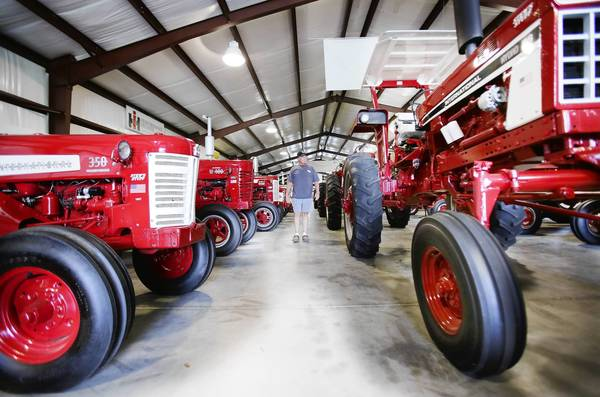 Tucked away on Whitney Rd. in Leesburg is a piece of American history well worth the trip. Paquette's Historical Farmall Museum features more than 100 International Harvester tractors all restored to their former glory.