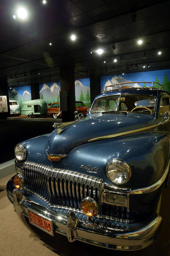 Petersen Automotive Museum display