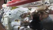 Spacewalk: Mysterious, serious leak in astronaut helmet baffles NASA