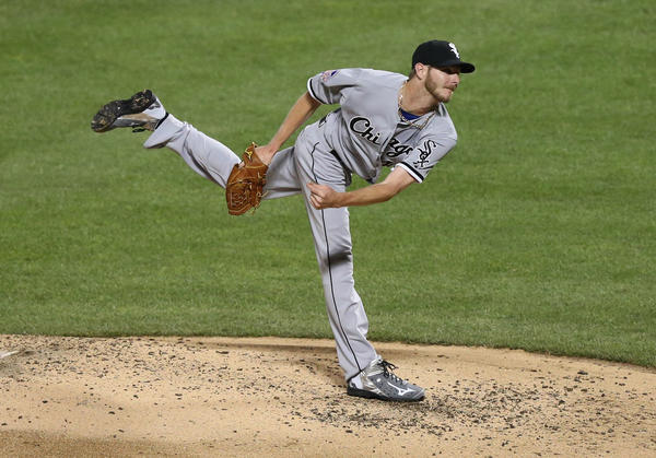 Chris Sale threw two scoreless innings in Tuesday's All-Star Game. (USA Today Sports Photo)