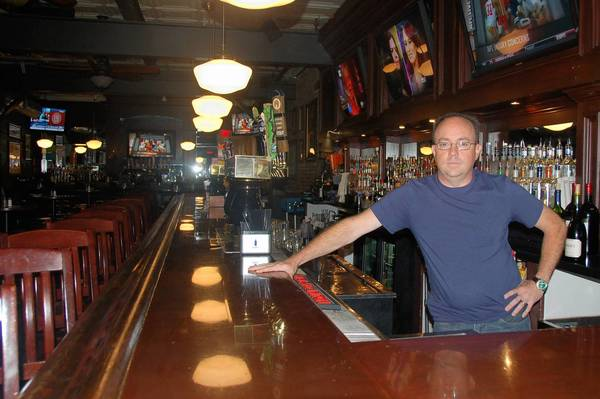 Jim Bergeron took over the former BlackFinn American Saloon in downtown Naperville. It is now called the Wise Boxer.