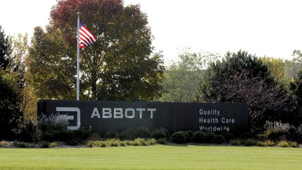 The headquarters of Abbott Laboratories in North Chicago.