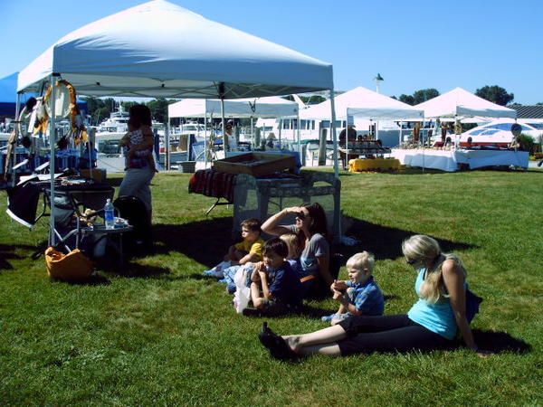 The Harbor Springs waterfront will be the setting for the 10th annual North American Indian Art Fair on Saturday, July 20.
