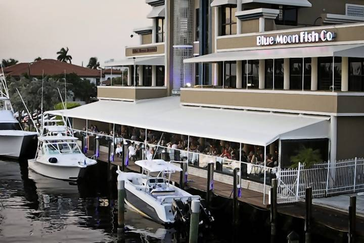 Restaurant review blue moon fish company for Blue moon fish company fort lauderdale