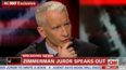 Anderson Cooper stands out in wake of Zimmerman verdict