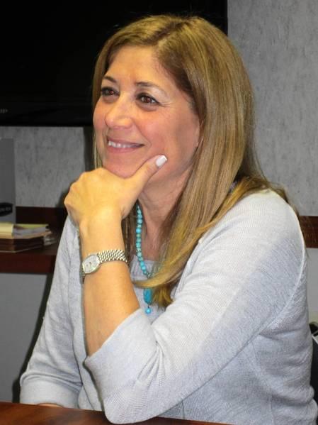 Township High School District 113 Board President Marjie Sandlow.