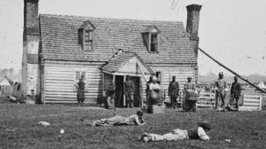 Contraband slaves flocked to Yorktown
