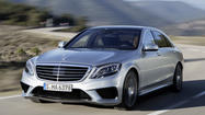 Mercedes announces 557-horsepower S63 AMG sedan