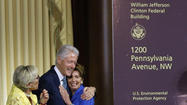 EPA headquarters named for Bill Clinton