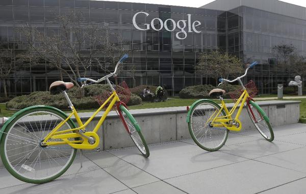 Google shares have gained 30% so far this year. Above, the tech giant's campus in Mountain View, Calif.