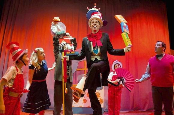 'The Cat in the Hat' by Emerald City Theatre is at the Broadway Playhouse.