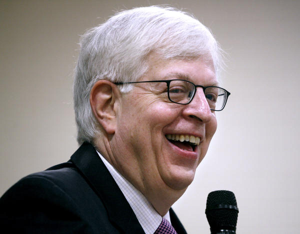 "File Photo: Radio talk show host Dennis Prager gave the keynote address ""Was America Meant to be a Secular Nation?"" at the YMCA of the Foothills 18th Community Prayer Breakfast held at the Crescenta-Canada Family YMCA in La Canada Flintridge on Thursday, November 3, 2011. The Republican Club of the Foothills will welcome radio talk show host and columnist Dennis Prager to the next meeting at 6:30 p.m. on Thursday, July 25."