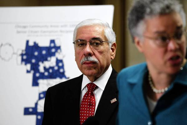 Joseph Berrios who doubles as Cook County Democratic chairman, took over as assessor in December 2010 and fired nearly a dozen employees and brought in his own team, which included his son, his sister and a trusted lawyer from his previous job at the Board of Review.