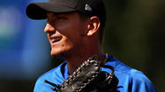 Photos: Cubs prospect Almora with Kane County