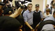Russian opposition leader Alexei Navalny gets prison; protests ensue