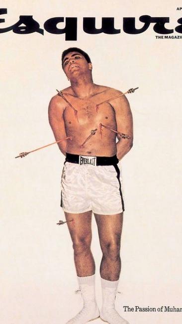 Esquire's Muhammad Ali cover