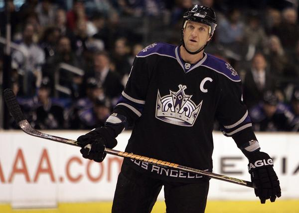 Rob Blake, shown playing for the Kings in 2008, is now assistant general manager for the team.