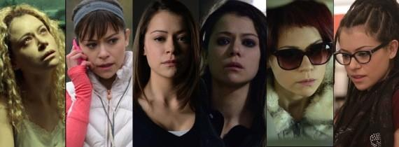 "Here are six of the seven clones Tatiana Maslany played in season 1 of BBC America's ""Orphan Black."""