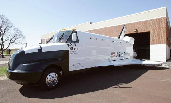 Blake, the mock space shuttle that taught thousands of students about space travel, will touch down at the Lehigh Valley Air Show on Aug. 24 and 25 at the Lehigh Valley International Airport.