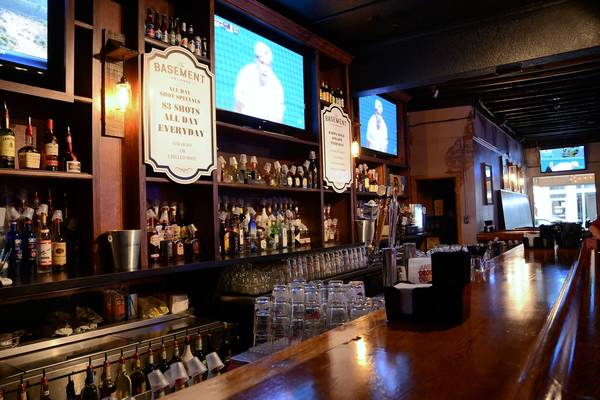 The Basement keeps Pine St. Bar's mix of low-key libations and food.