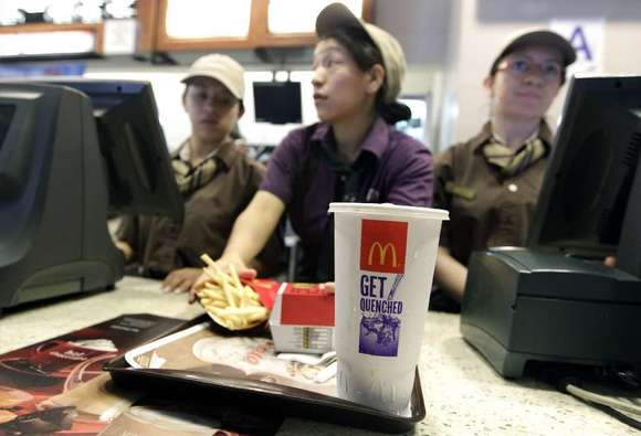 Reminding people how many calories they should eat at lunch did not persuade diners to order lower-calorie meals at McDonald's.