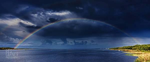 """Sanford Rainbow,"" a photograph by Reg Garner."