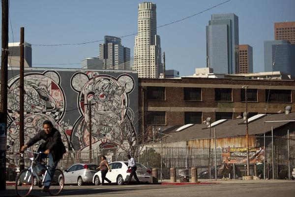 L.A.'s downtown arts district
