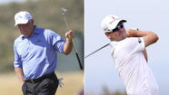 Mark O'Meara, Zach Johnson stay calm and at the top of British Open