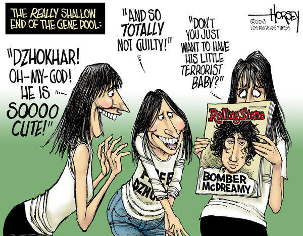 Dzhokhar Tsarnaev fans love Rolling Stone cover photo