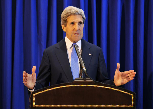 Secretary of State John F. Kerry in Amman, Jordan