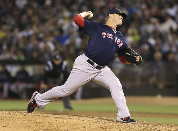 Red Sox reliever Andrew Bailey is considering season-ending surgery.