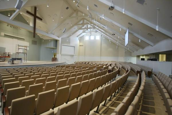 First Baptist Church at the Villages will open their new church this September, which can hold up to 1,000 people. The church's original building started out with less than 100 members just ten years ago.