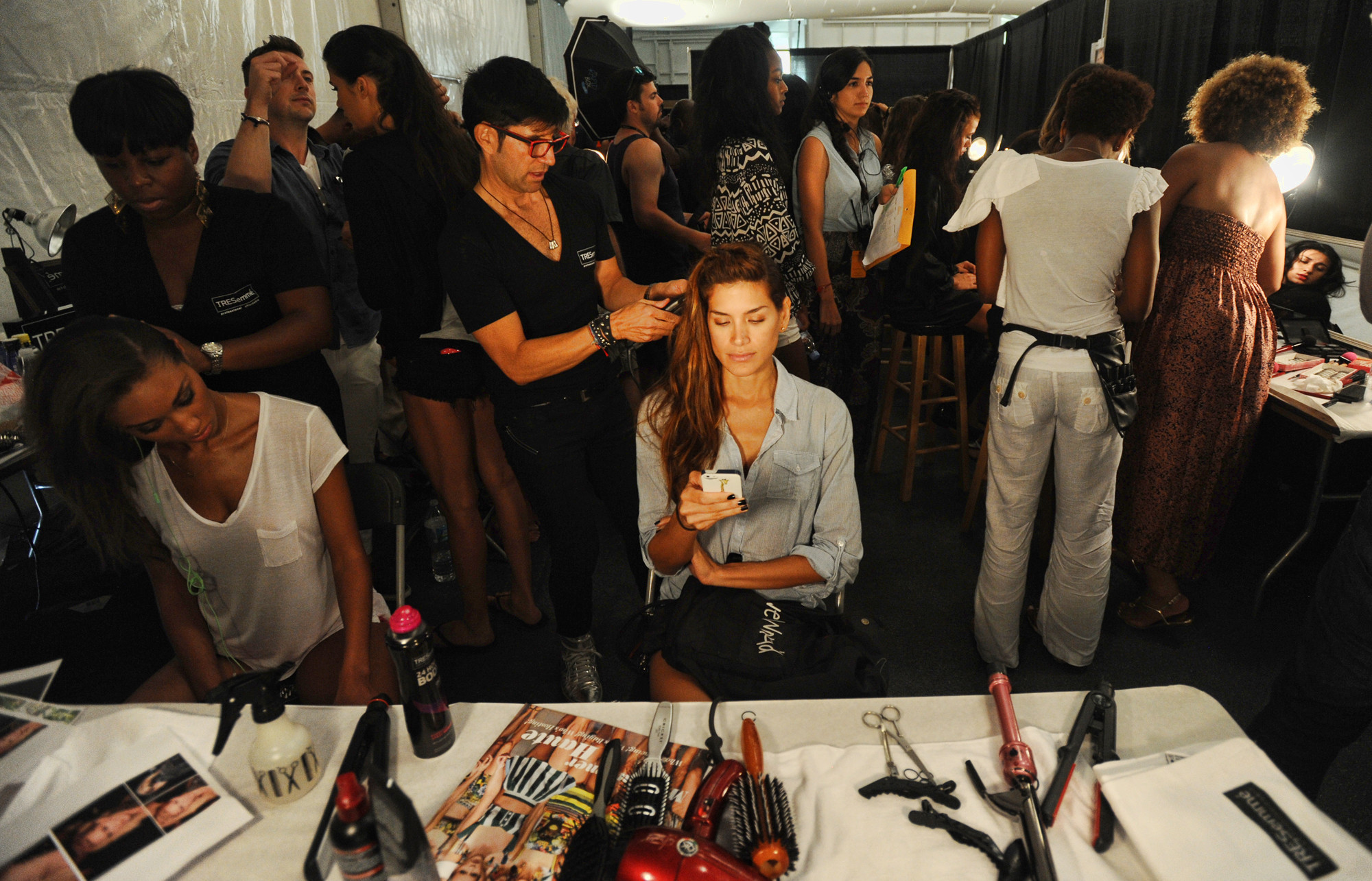 A look back at Miami Swim Week 2013 - Prep work