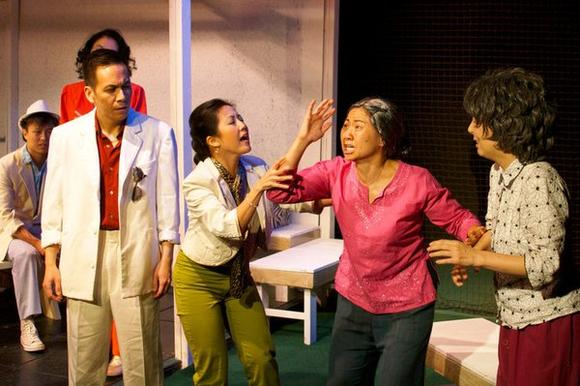 """Family Devotions"" is by playwright David Henry Hwang, staged at the Greenhouse Theater Center."