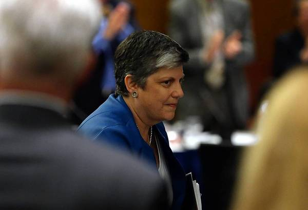 Outgoing Homeland Security Secretary Janet Napolitano was confirmed Thursday by the UC regents and the next president of the university system.