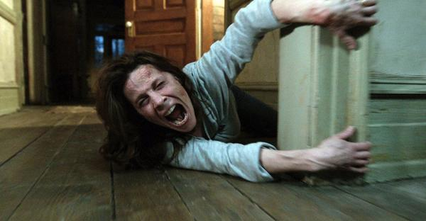 "Lili Taylor and ""The Conjuring"" should hold on to No. 1 at the box office this weekend."