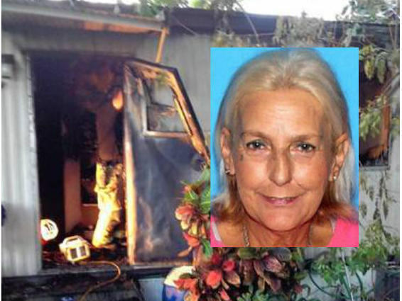 Sallie Mason, 57, died Friday night after her mobile home caught on fire.