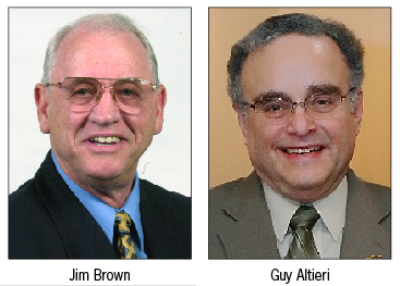 Jim Brown and Guy Altieri