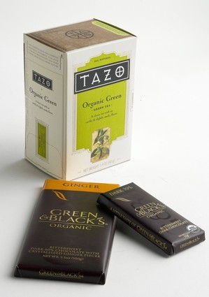Health nuts: Treats and tricks for healing - Tazo Organic Green, Green & Blacks Organic Dark Chocolate