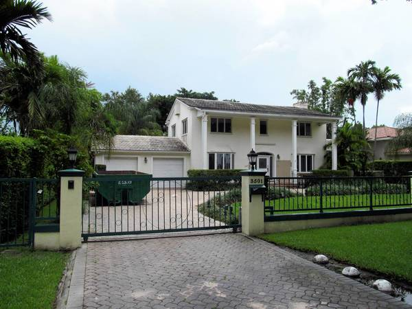 The military will pay $160,000 a year to house Marine Gen. John F. Kelly, head of U.S. Southern Command, in Casa Sur on a swanky street in Coral Gables, Fla. The home is undergoing a $402,000 renovation.
