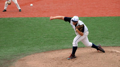Somerset pitcher Ethan Keefer went the distance Saturday to earn the victory.