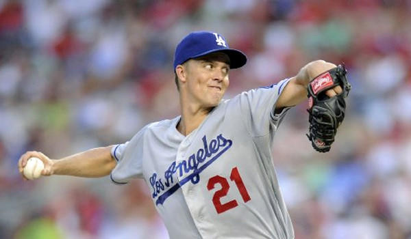 Zack Greinke gave up seven hits and one run over six innings while striking out three batters as the Dodgers went on to victory over the Washington Nationals, 3-1, in 10 innings.