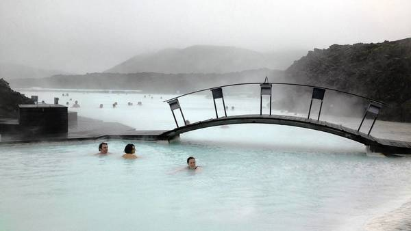 The Blue Lagoon near Reykjavik, Iceland, is one of the country's iconic experiences.