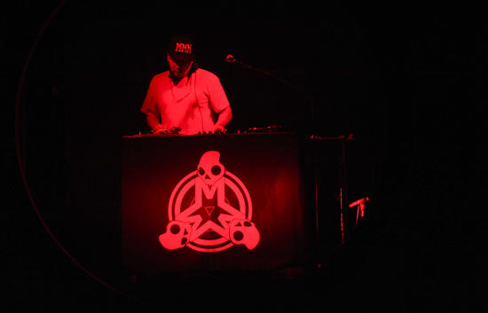 "<a class=""taxInlineTagLink"" id=""PECLB003213"" title=""Mix Master Mike"" href=""/topic/entertainment/mix-master-mike-PECLB003213.topic"">Mix Master Mike</a> performs on the turntable as the other half of an opening act for Lil Wayne's ""I'm Still Music"" tour Sunday night at Baltimore's <a class=""taxInlineTagLink"" id=""PLCUL000111"" title=""1st Mariner Arena"" href=""/topic/sports/1st-mariner-arena-PLCUL000111.topic"">1st Mariner Arena</a>."