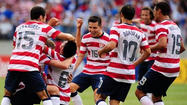 U.S. routs El Salvador, 5-1, to advance to Gold Cup semifinals