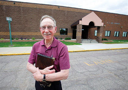 The addition at C.C. Lee Elementary School that was built in 2007 will be named after Duane Alm, the school's former principal and current member of the Aberdeen Public Board of Education.